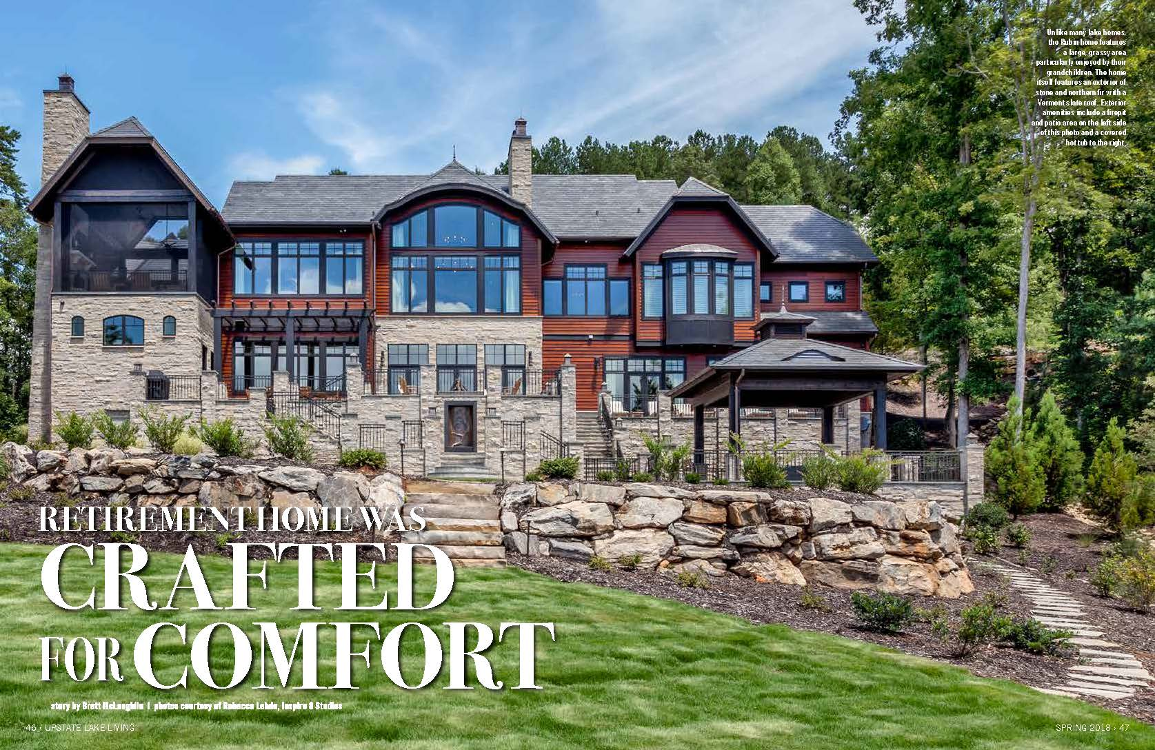 "A Lake Keowee Home Specially ""Crafted for Comfort"""